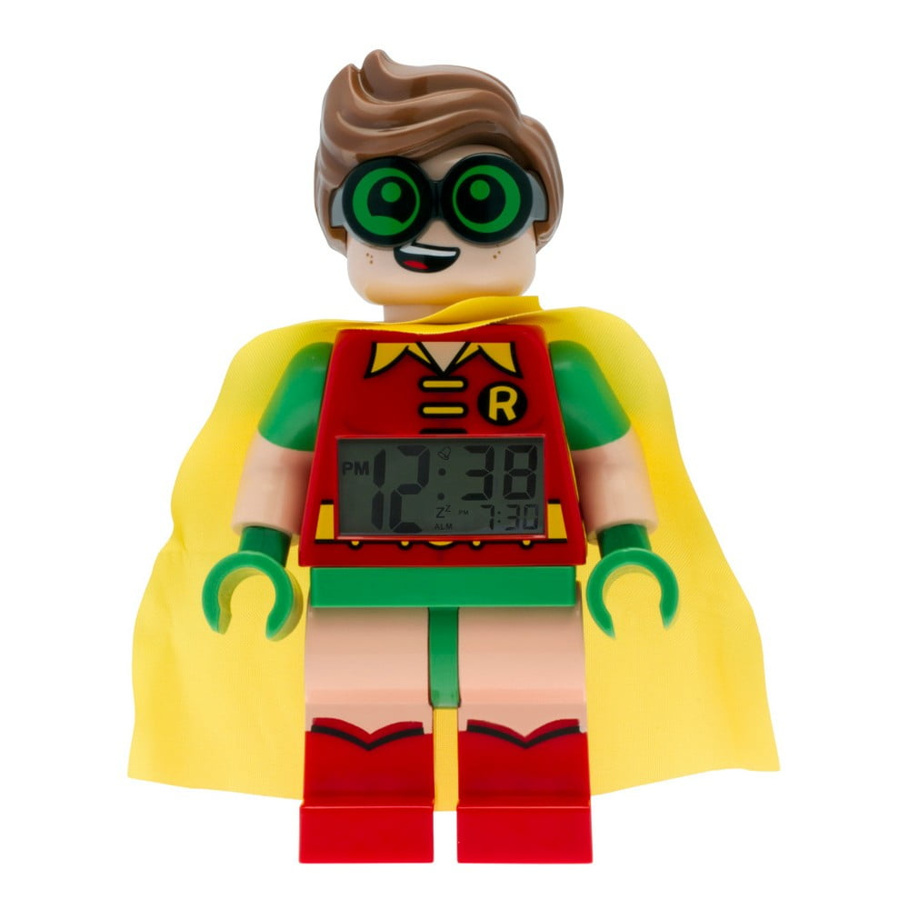 Hodiny s budíkem LEGO® Batman Movie Robin