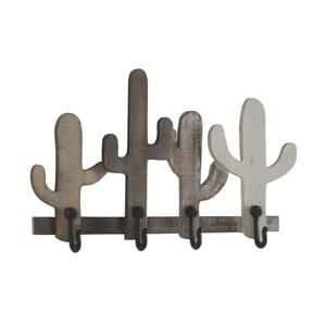 Sada 2 nástěnných věšáků s 4 háčky Geese Cactus