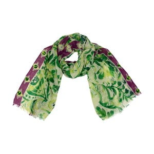 Vlněný šátek Shirin Sehan - Muriel Grass