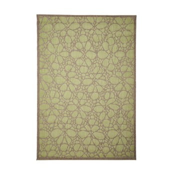 Covor adecvat pentru exterior Floorita Fiore, 135 x 190 cm, verde imagine