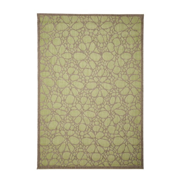 Zelený venkovní koberec Floorita Fiore, 160 x 230 cm