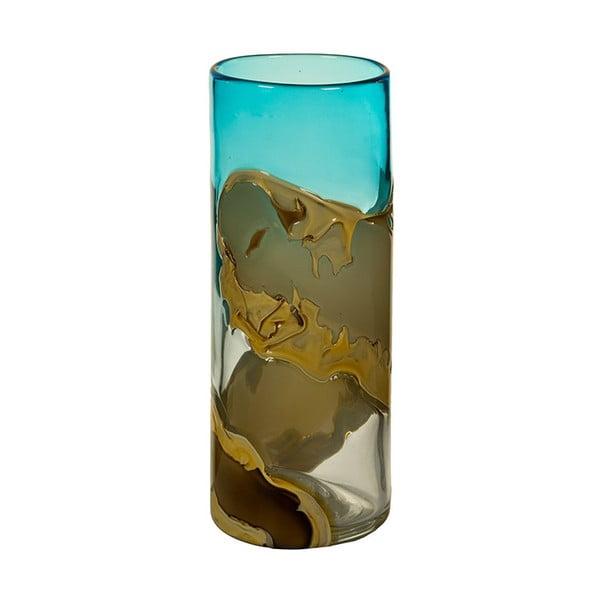 Ručně vyráběná křišťálová váza Santiago Pons Kris, výška30cm