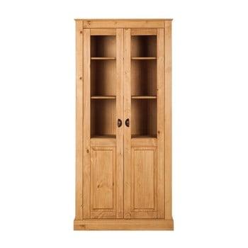 Vitrină din lemn de pin cu 2 uși Støraa Tommy, culoare naturală de la Støraa