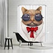 Koupelnový závěs Astro Cat, 180x180 cm