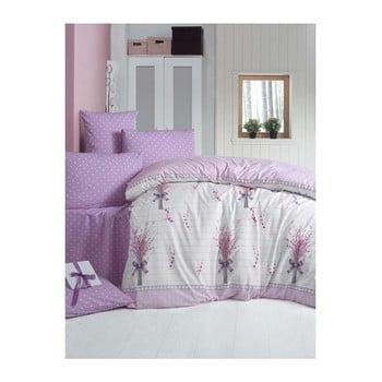 Set lenjerie de pat din bumbac pentru pat de o persoană Ranforce Flyonk, 160 x 220 cm de la Victoria