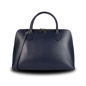 Modrá kabelka z pravé kůže JOHN FISH Cheers