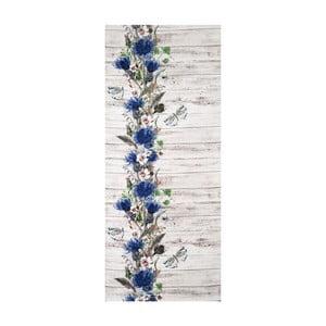 Covor foarte rezistent Webtappeti Fiori, 58 x 190 cm