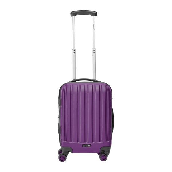 Fialový cestovní kufr Packenger Koffer, 47 l