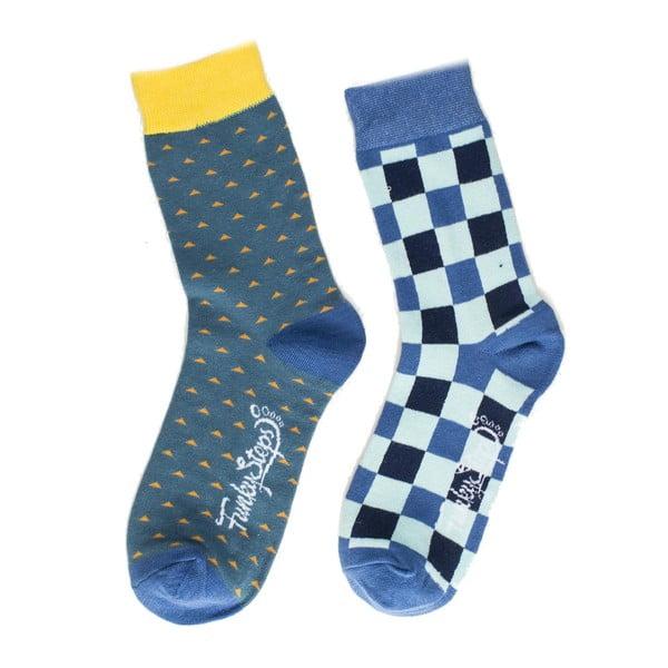 Sada 2 párů unisex ponožek Funky Steps Binger,velikost39/45