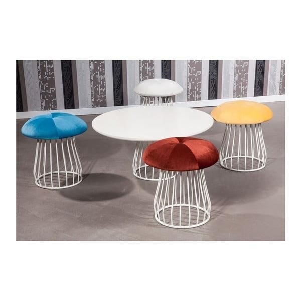 Konferenční stolek Mushroom se židlemi