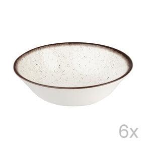 Set 6 ks misek Bakewell Mint, 15,5 cm
