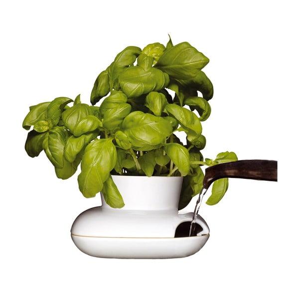 Porcelánový květináč na bylinky Sagaform Herb