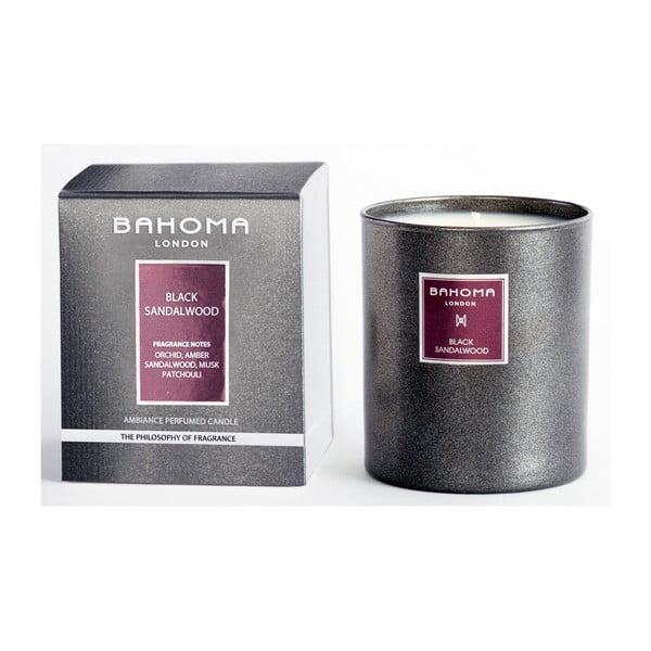 Svíčka s vůní černého santalového dřeva Bahoma London, 75 hodin hoření