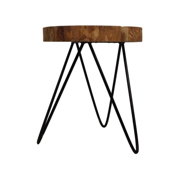 Dubový stolek HSM collection Roxy, 40 x 52 cm