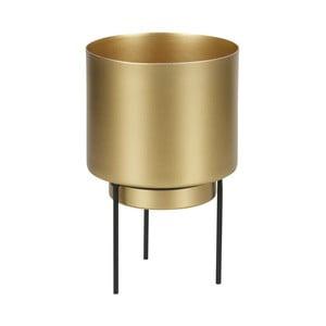 Květináč zlaté barvy WOOOD Guus, Ø11,2cm