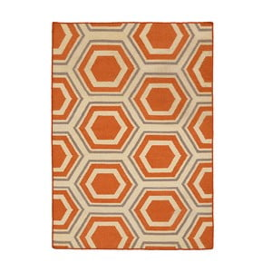 Ručně tkaný koberec Kilim JP 22, 90x150 cm