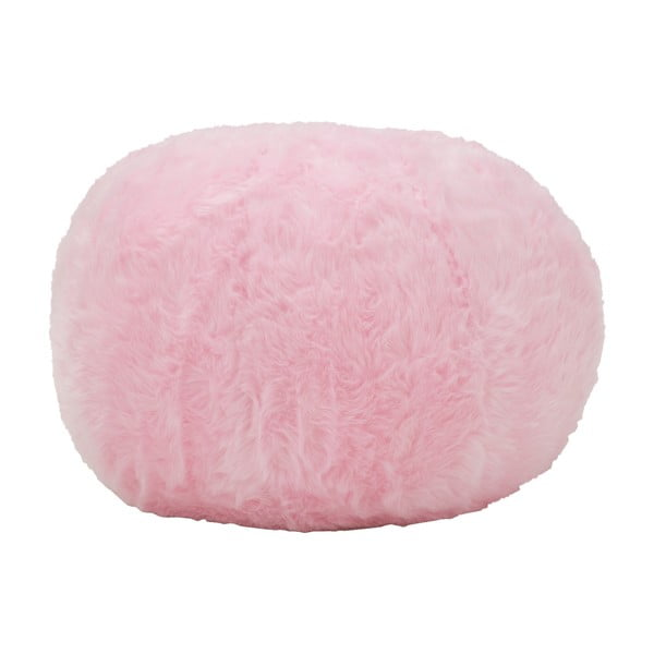 Růžový puf Mauro Ferretti Plush
