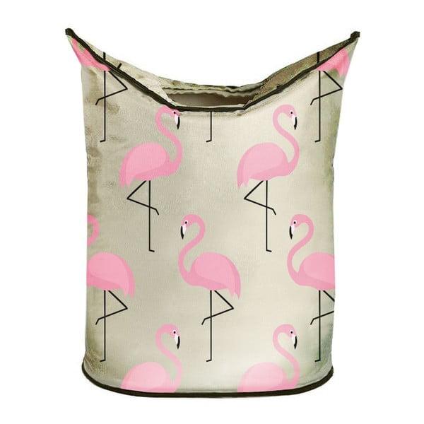 Úložný koš Butter Kings Amazing Flamingos