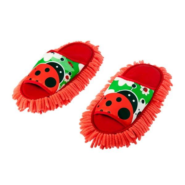 Pantofle s prachovkou Lady Bug