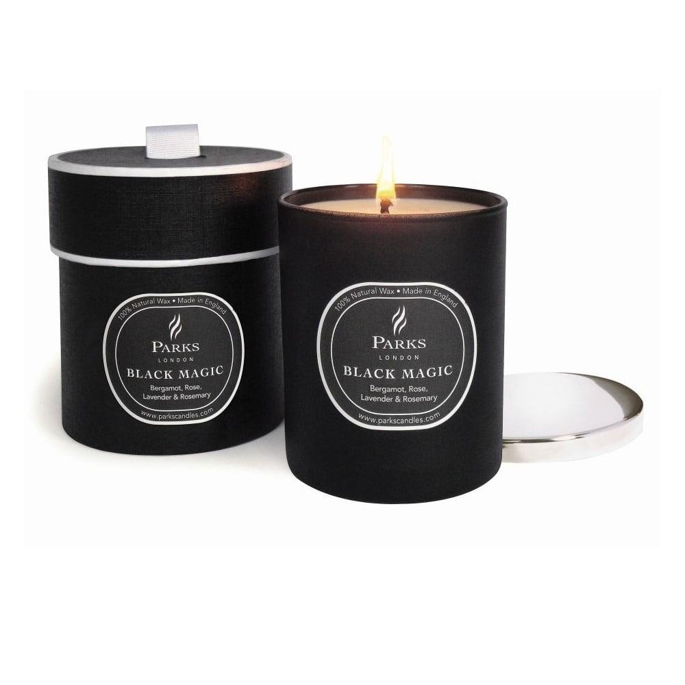 Svíčka s vůní bergamotu a růže Parks Candles London Magic, 50 hodin hoření