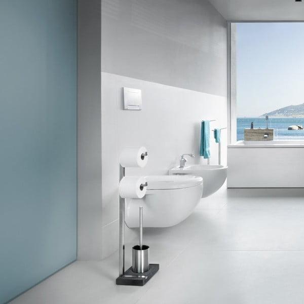 Matný nerezový stojan na toaletní papír Blomus Menoto