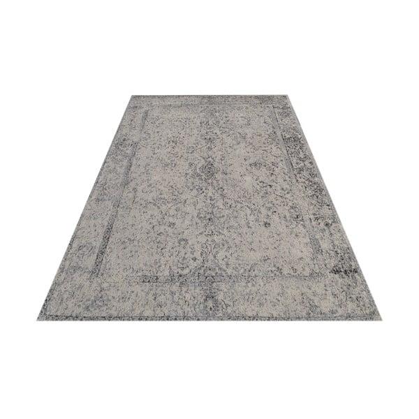 Vlněný koberec Canada, 160x230 cm, šedý