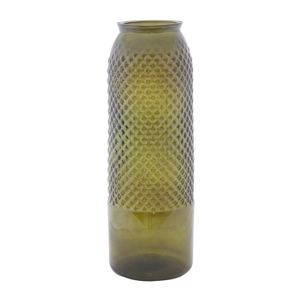 Zelená váza z recyklovaného skla Mauro Ferretti Bolter, ⌀ 15 cm Mauro Ferretti