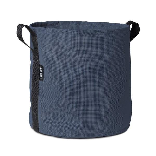 Tmavě modrý květináč, 25 L