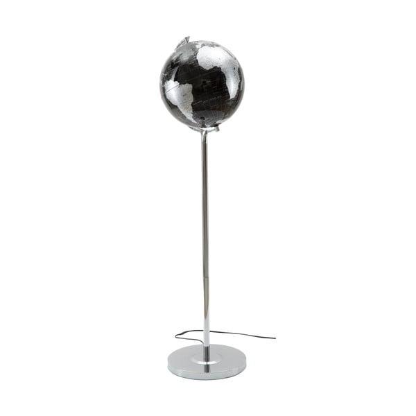 Da Terra fekete-ezüstszínű asztali lámpa, magasság 130 cm - Mauro Ferretti