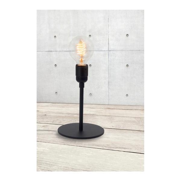 Černá stolní lampa Bulb Attack Uno Basic