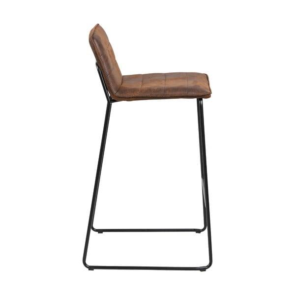 Hnědá barová židle Actona Holland, výška96cm