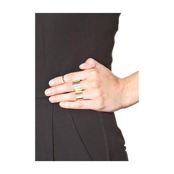 Set 3 inele damă NOMA Anastacia, auriu poza