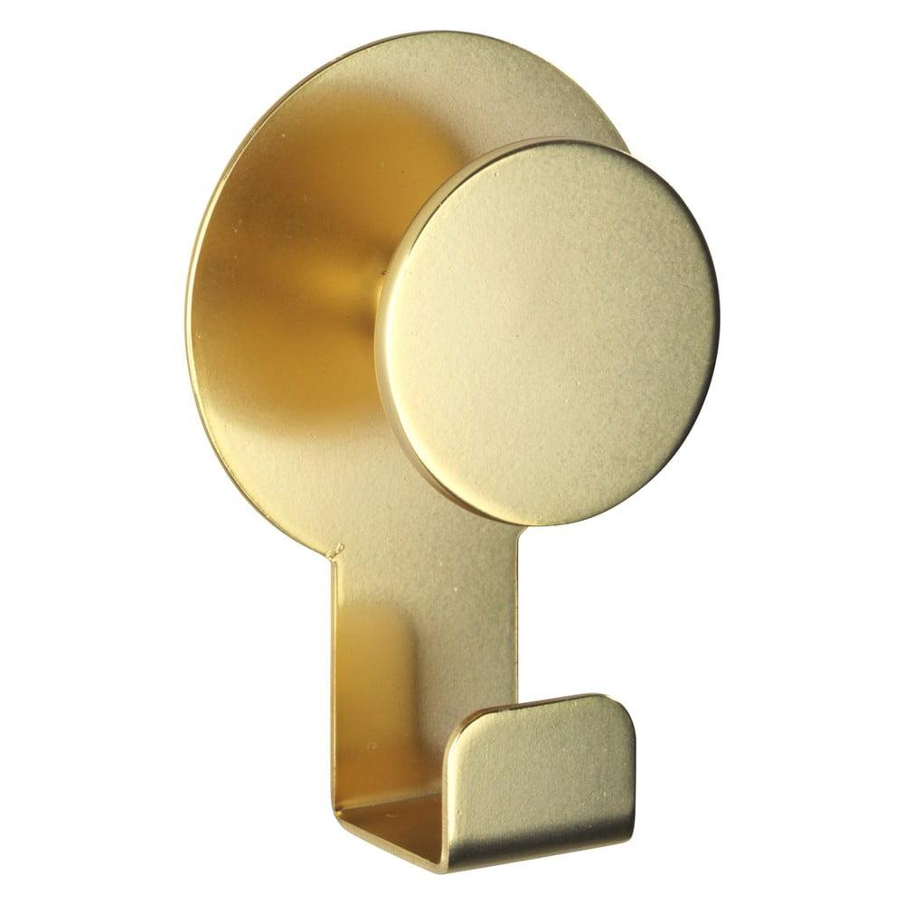 Produktové foto Matný nástěnný háček ve zlaté barvě Wenko Blandas