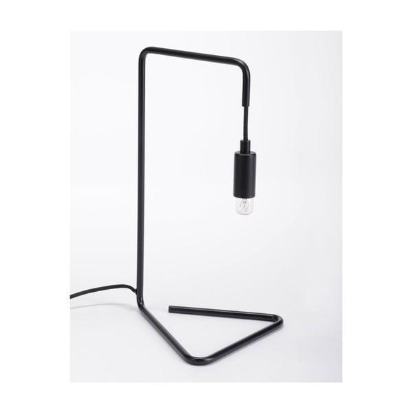 Černá stolní lampa ComingB Bureau