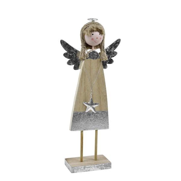 Dekorativní dřevěný anděl Ego Dekor Stela, výška29cm
