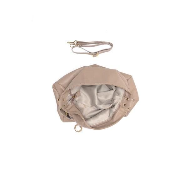 Kožená kabelka Tote 2087 Fango
