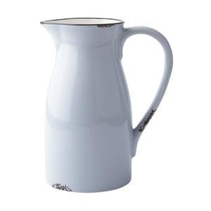Keramická váza/konev, blue/white