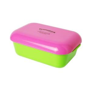 Chladící svačinový box Frozzypack Summer Edition, green/cerise