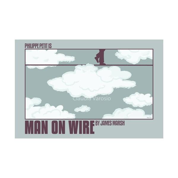 Plakát Man on Wire (Muž na laně)