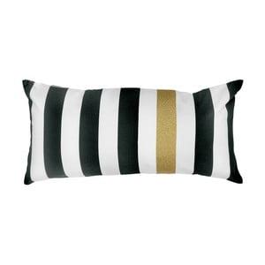 Polštář Miss Étoile Gold Stripes, 30 x 70 cm