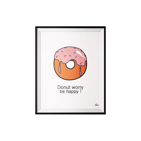 Plakát Donut, 40x50 cm