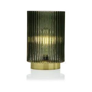 Zelená skleněná olejová LED lampa Versa Relax, ⌀ 15 cm