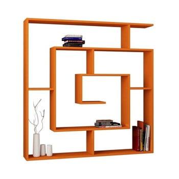 Bibliotecă Labirent, portocaliu