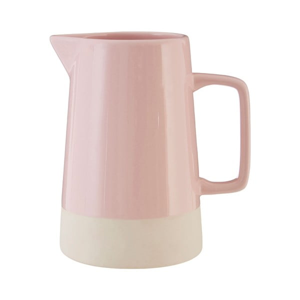 Růžový kameninový džbán Premier Housewares, 1,28 l