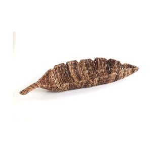 Proutěná miska Leaf Tray, 68 cm