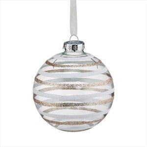Vánoční závěsná ozdoba Butlers Hang On Shiny Stripes