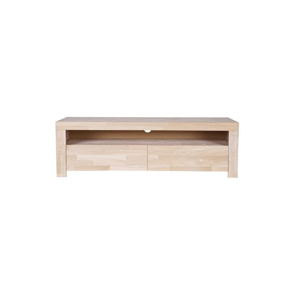 TV stolek z dubového dřeva De Eekhoorn Mats