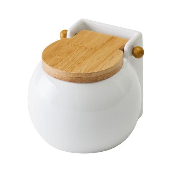 Recipient pentru sare Unimasa Ceramic, 700 ml, alb