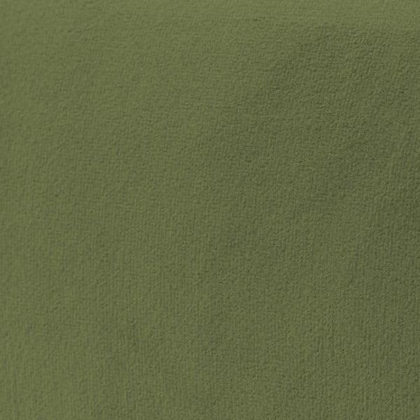 Olivově zelená 3místná pohovka Vivonita Kiara