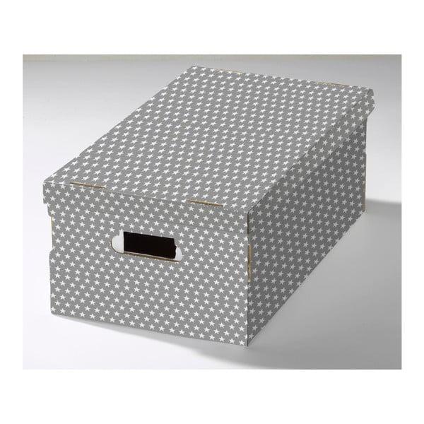 Krabice s víkem z vlnité lepenky Compactor Mia, 40x31x21cm